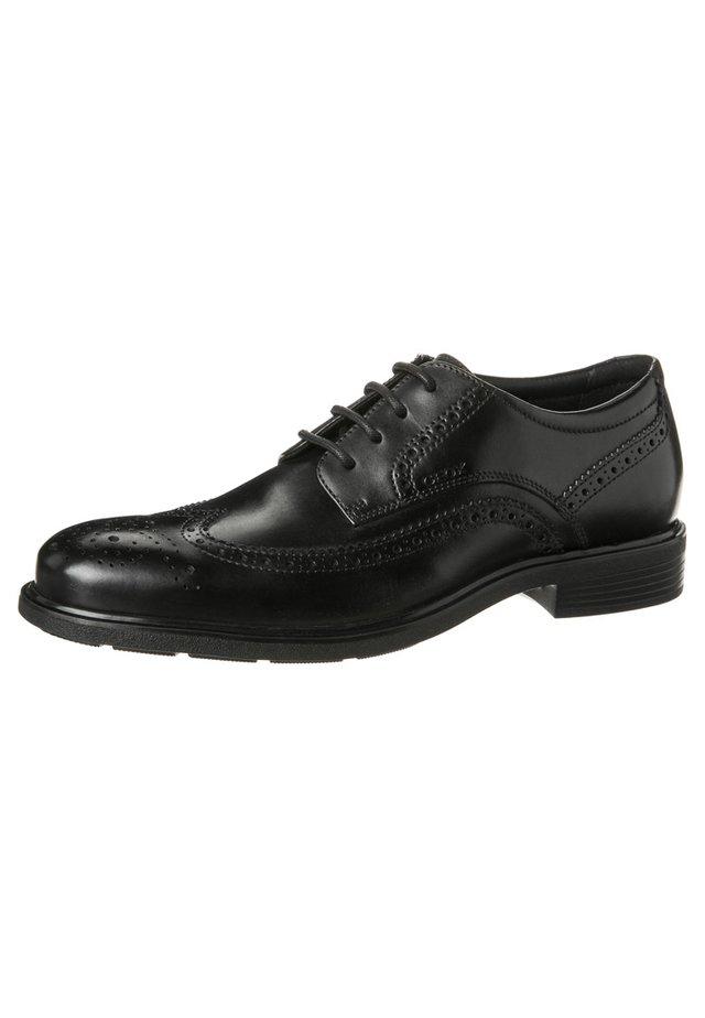 DUBLIN - Zapatos con cordones - schwarz