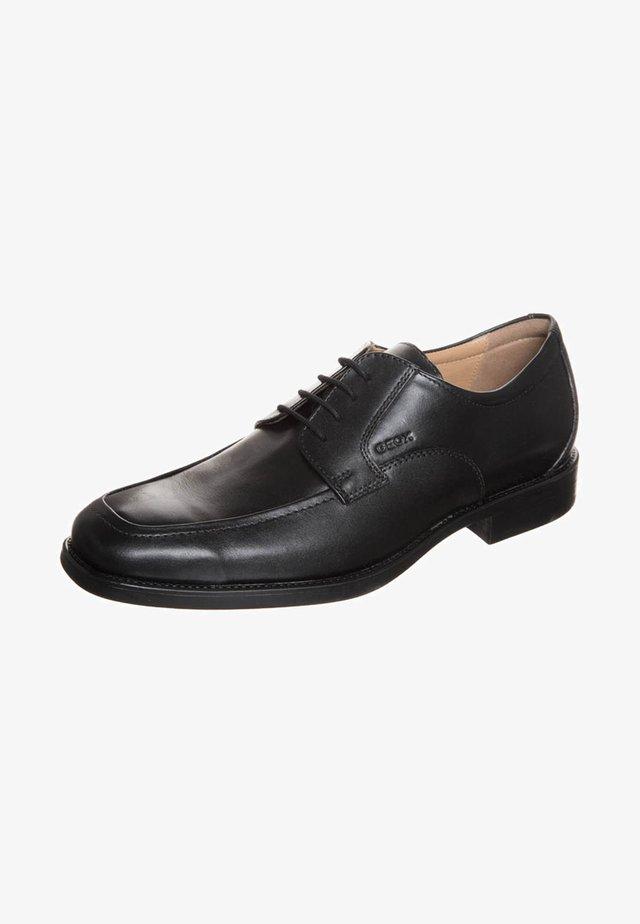 UOMO FEDERICO - Zapatos con cordones - black