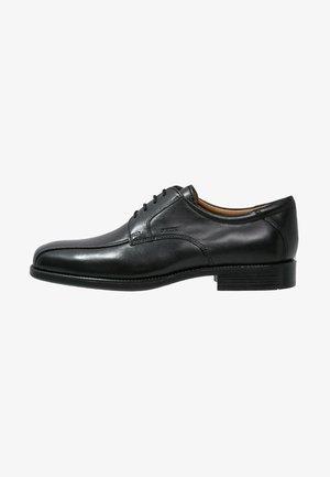 FEDERICO - Elegantní šněrovací boty - black