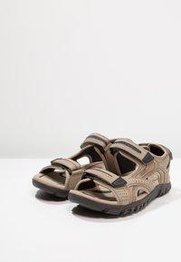 Geox - STRADA - Walking sandals - sand/navy - 2