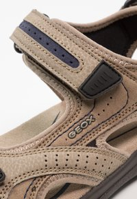 Geox - STRADA - Walking sandals - sand/navy - 5