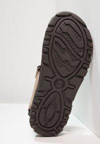 Geox - STRADA - Walking sandals - sand/navy - 4