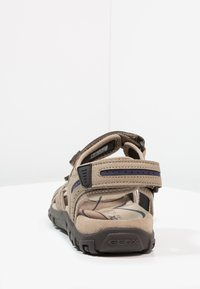 Geox - STRADA - Walking sandals - sand/navy - 3