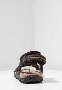 Geox - STRADA - Sandalias de senderismo - brown/sand - 3