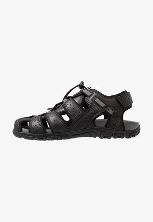 UOMO STRADA - Sandalias de senderismo - black