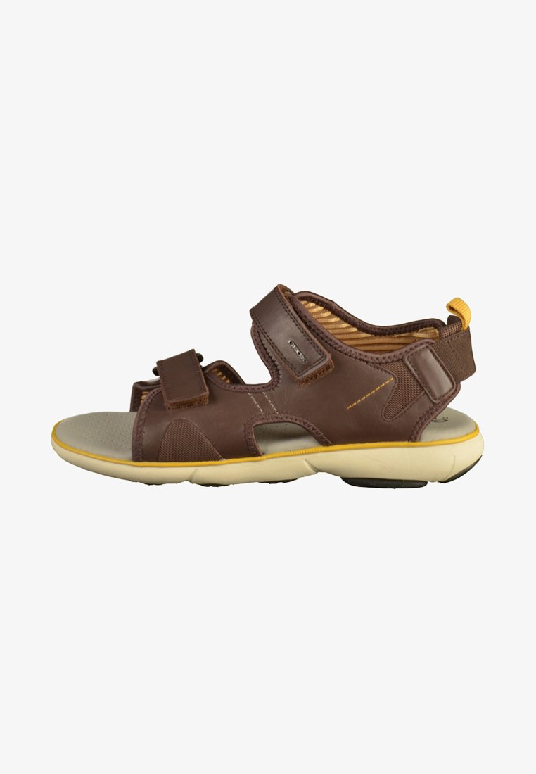 Geox - Sandals - brown/yellow