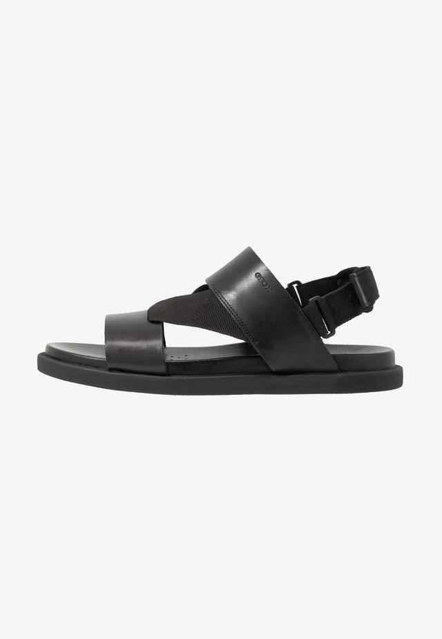 TAORMINA - Sandales - black