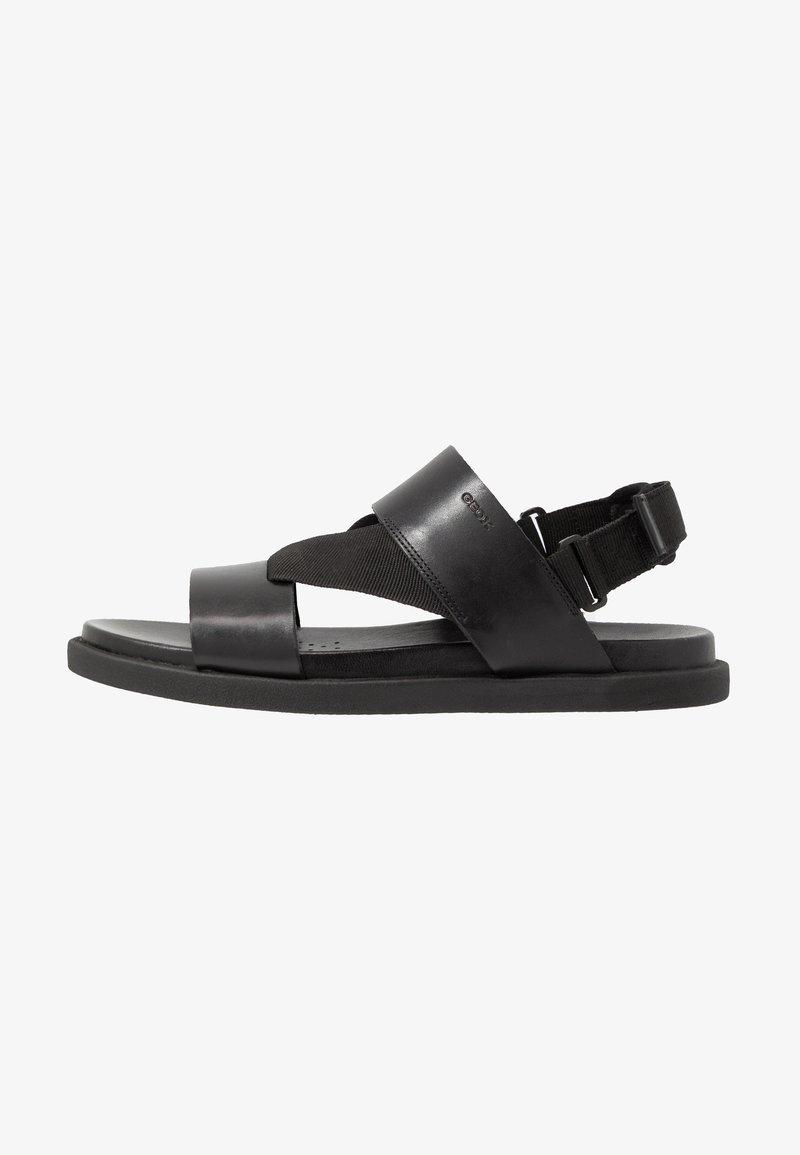Geox - TAORMINA - Sandals - black