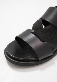 Geox - TAORMINA - Sandals - black - 5