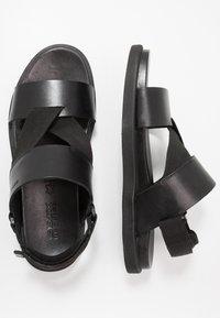 Geox - TAORMINA - Sandals - black - 1