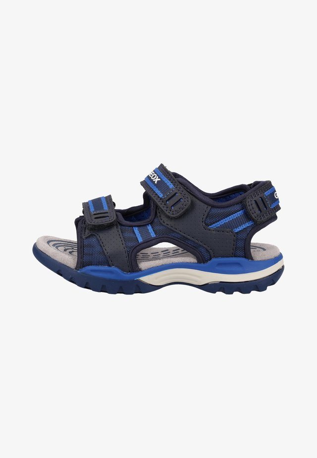 Walking sandals - navy/royal