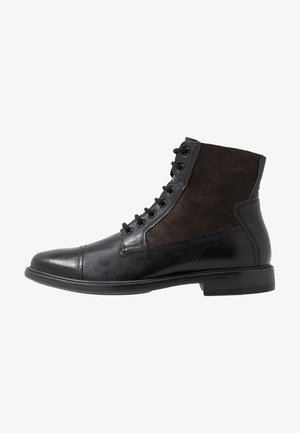 TERENCE - Lace-up ankle boots - black