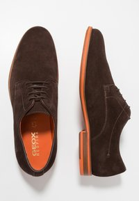 Geox - BAYLE - Lace-ups - brown - 1