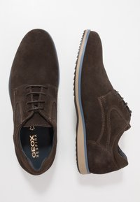 Geox - BLAINEY - Casual lace-ups - dark brown - 1