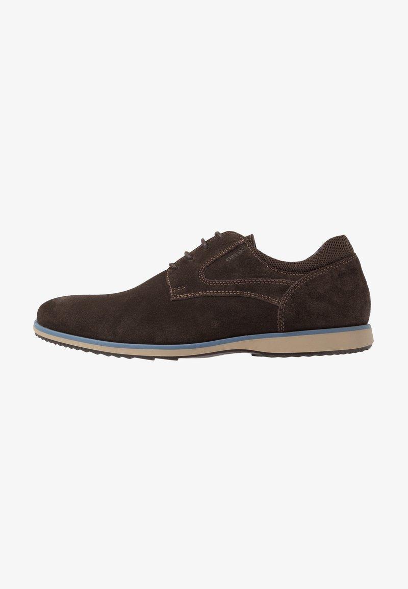 Geox - BLAINEY - Casual lace-ups - dark brown