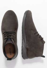 Geox - DAMIAN - Chaussures à lacets - mud - 1
