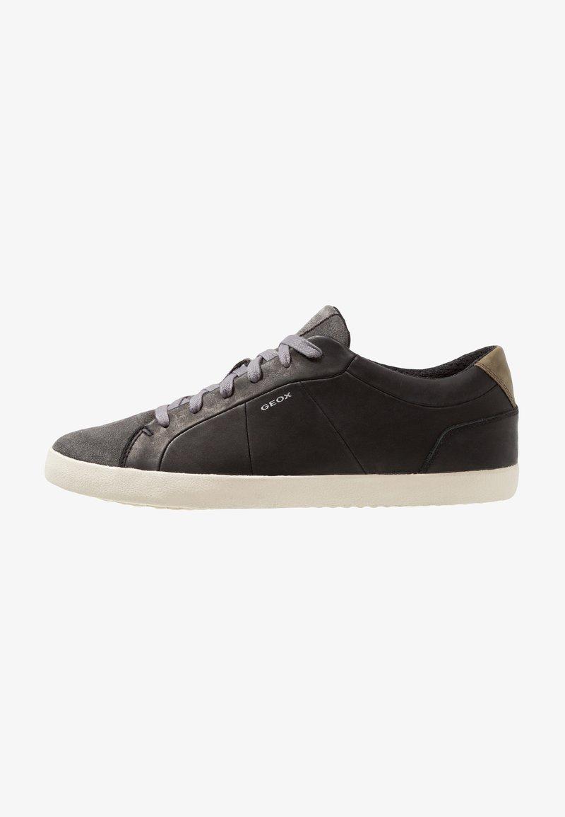 Geox - WARLEY - Sneaker low - black/dark grey