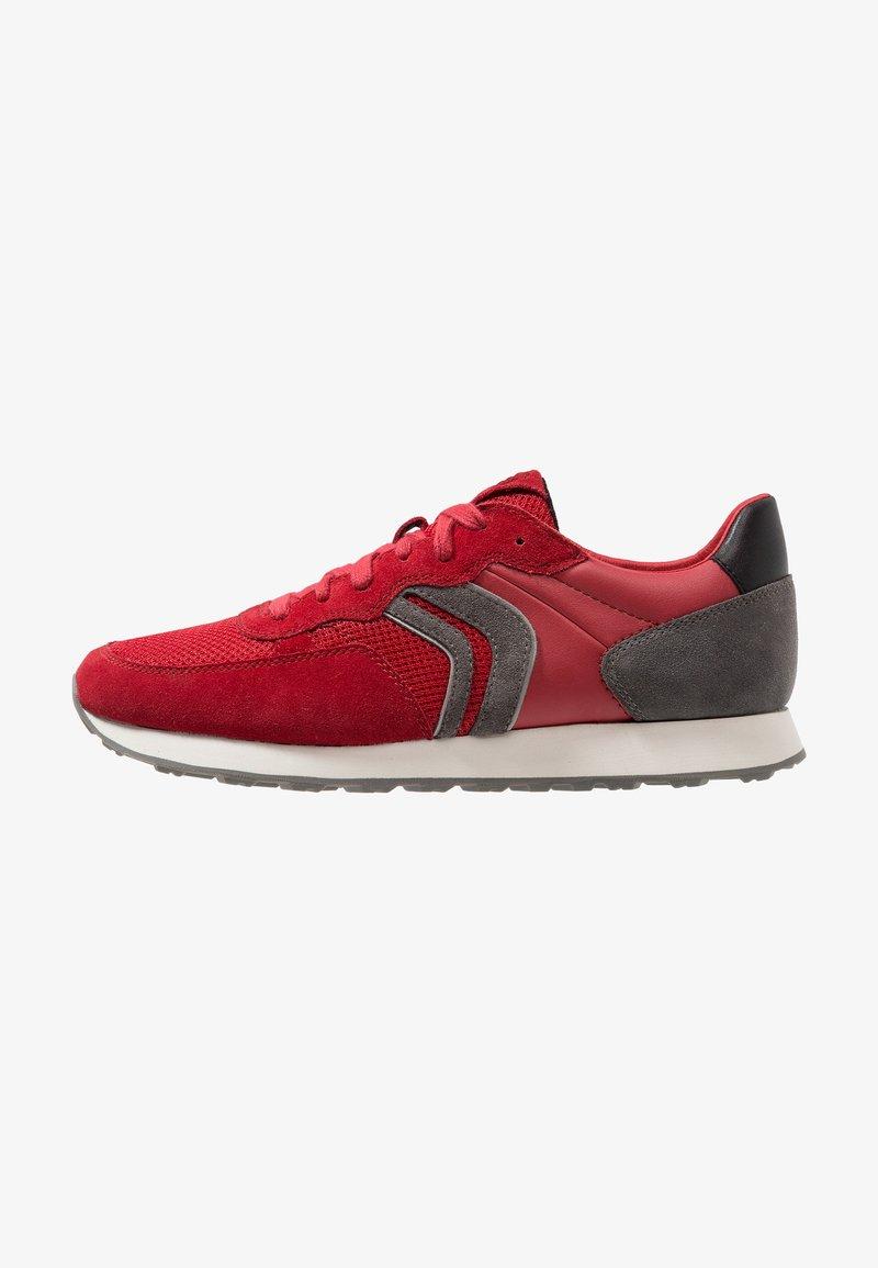 Geox - VINCIT - Sneakersy niskie - red/dark grey