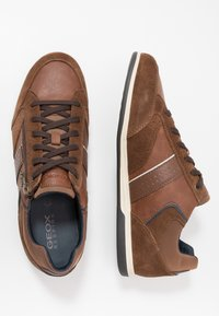 Geox - RENAN - Trainers - browncotto - 1
