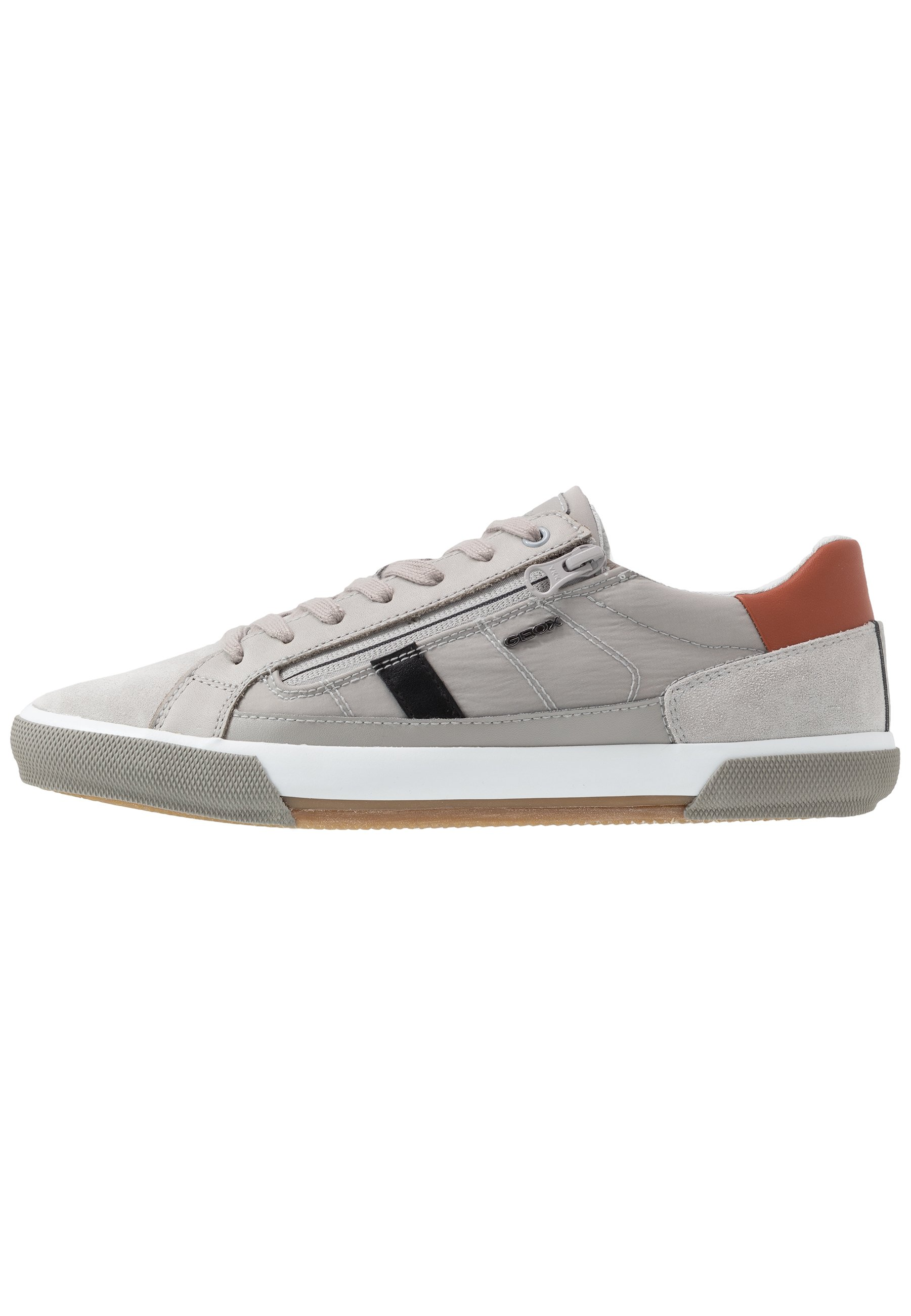 Geox UOMO SNAKE Sneaker low light greygrey