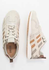 Geox - SNAKE - Trainers - beige/taupe - 1