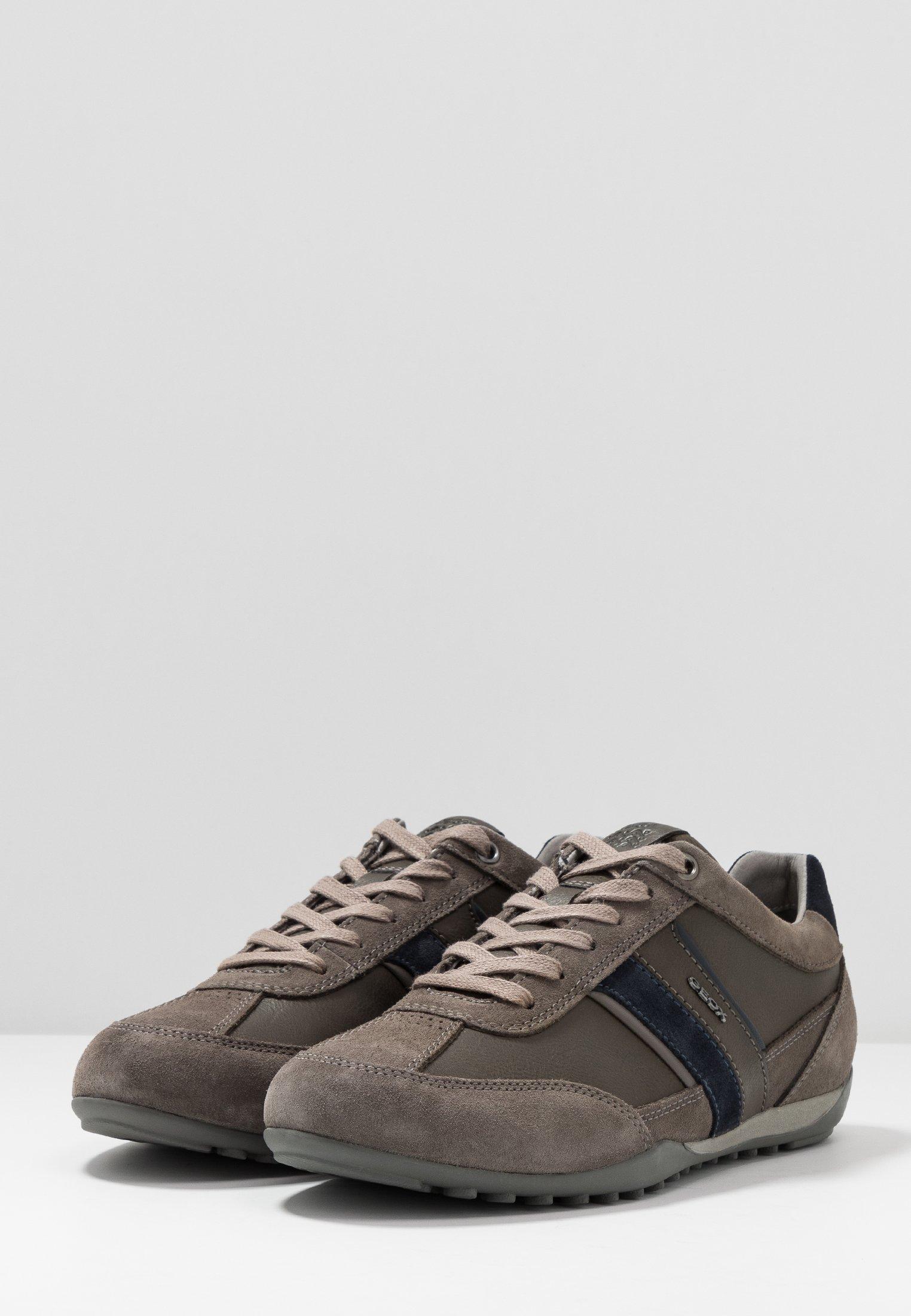 Geox grey Stone Geox WellsSneakers Basse b67yYgfv