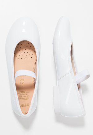 PLIE - Riemchenballerina - white