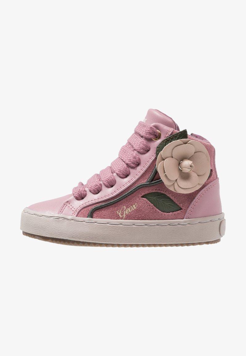 Geox - KALISPERA GIRL - Sneaker high - dark rose