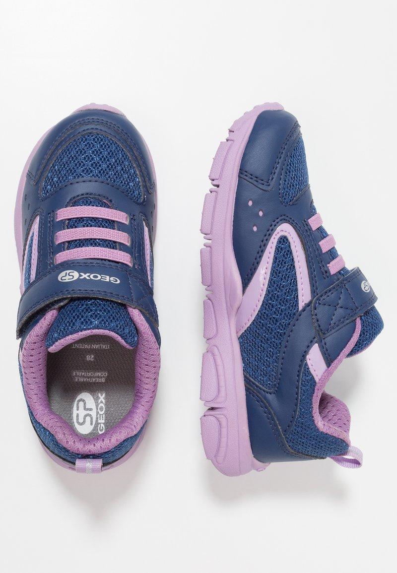 Geox - NEW TORQUE GIRL - Sneaker low - navy/lilac