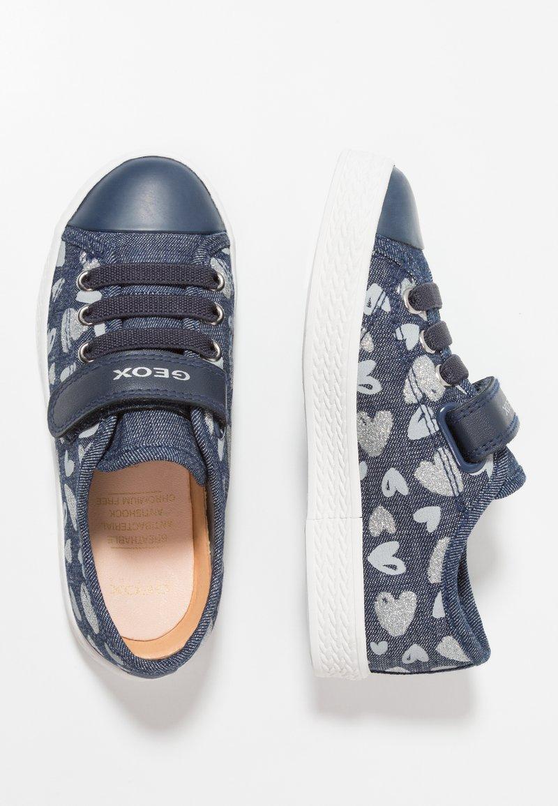 Geox - CIAK GIRL - Sneakers hoog - avio/silver