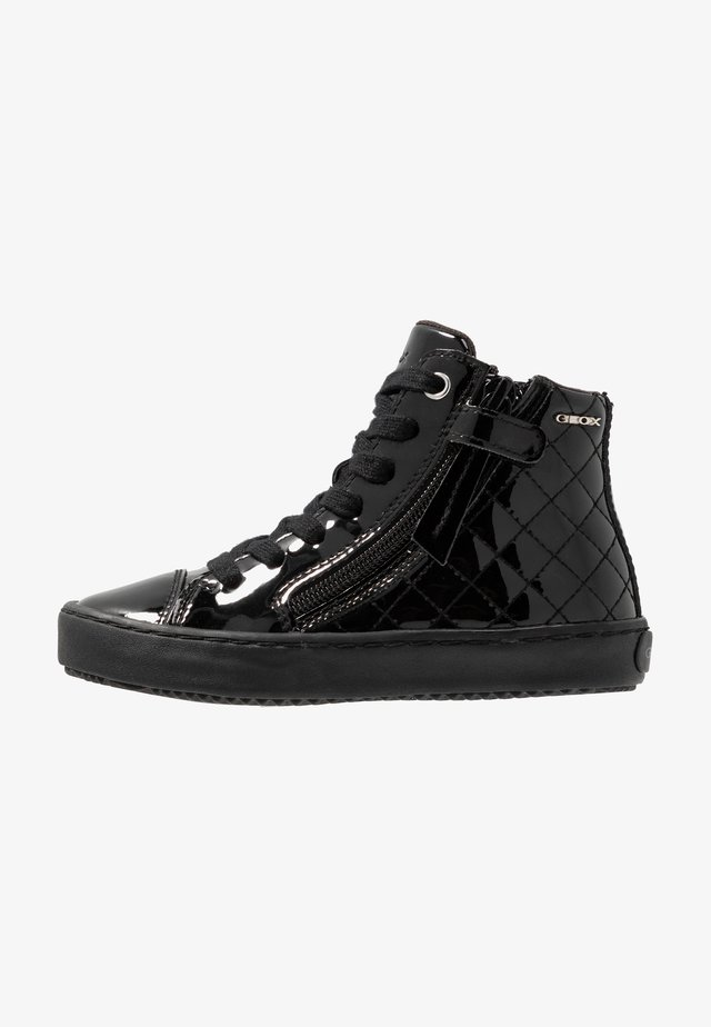 KALISPERA GIRL - High-top trainers - black