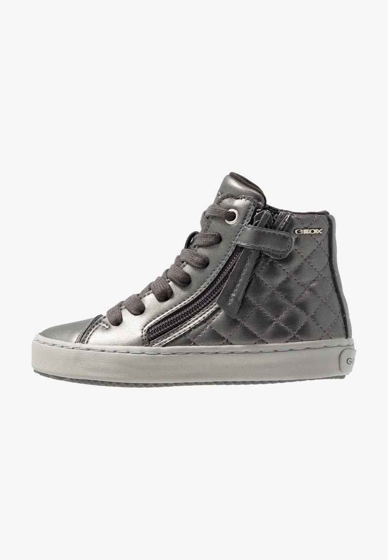 Geox - KALISPERA GIRL - High-top trainers - dark grey