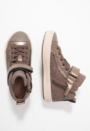 KALISPERA GIRL - Sneakersy wysokie - smoke grey