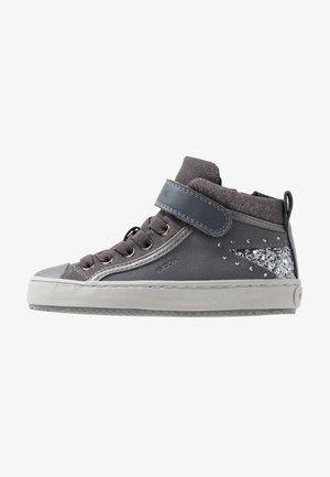 KALISPERA GIRL - Sneakersy wysokie - dark grey