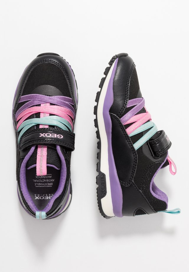 PAVEL GIRL - Zapatillas - black/dark lilac