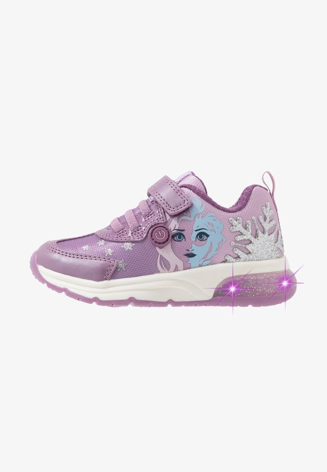 SPACECLUB GIRL FROZEN ELSA - Matalavartiset tennarit - pink/mauve