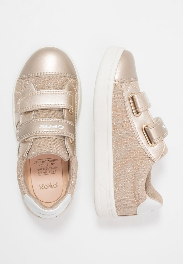 DJROCK GIRL - Zapatillas - light gold