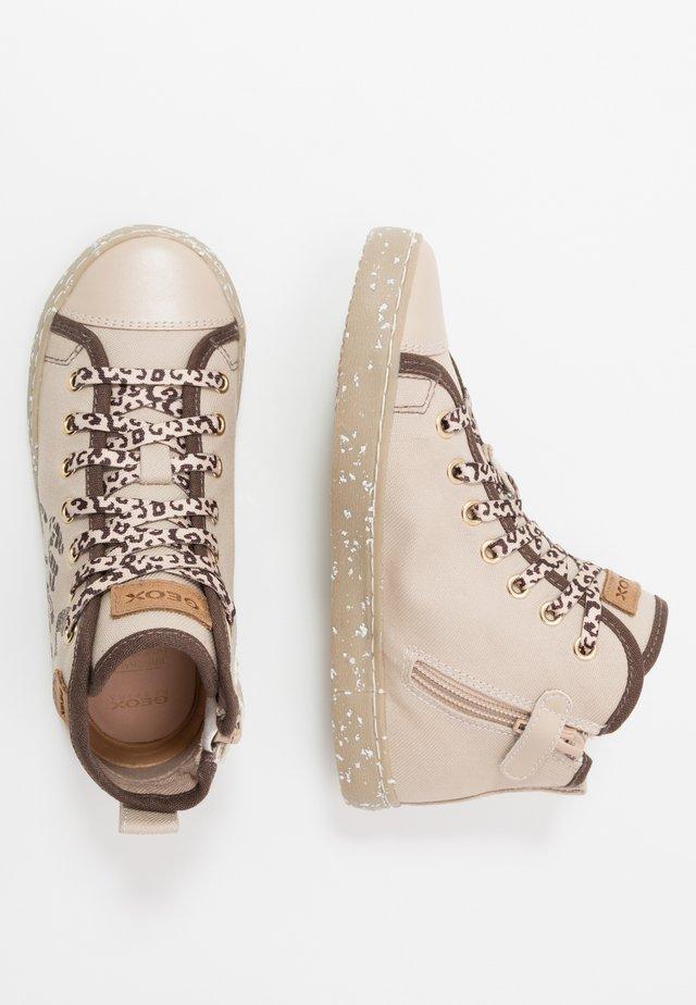 KILWI GIRL - Höga sneakers - beige