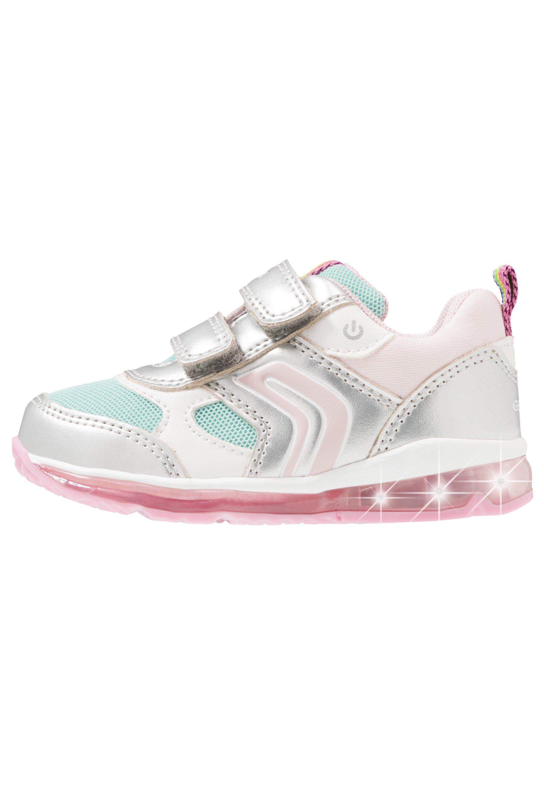 Geox TODO GIRL Sneaker low silveraqua