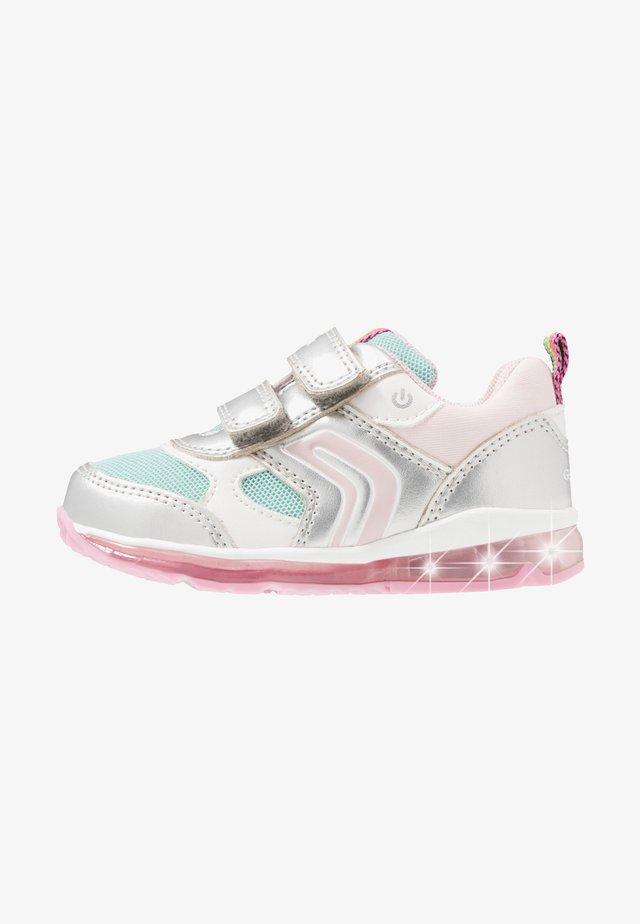 TODO GIRL - Sneakers - silver/aqua