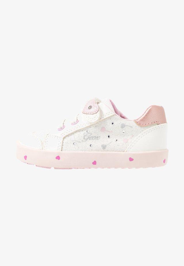 KILWI GIRL - Zapatillas - white/pink