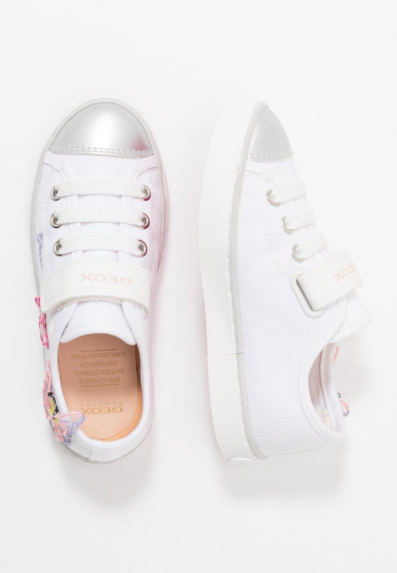 Geox - CIAK GIRL - Tenisky - white/pink