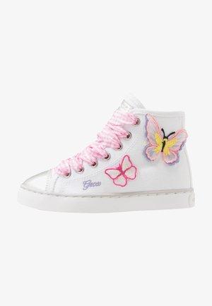 CIAK GIRL - Sneakers hoog - white/pink