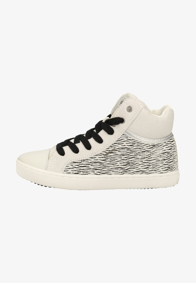 Zapatillas altas - white/black