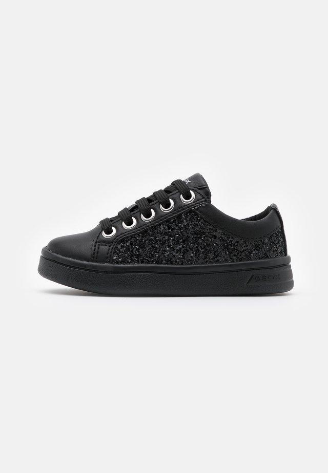 DJROCK GIRL - Sneakers laag - black