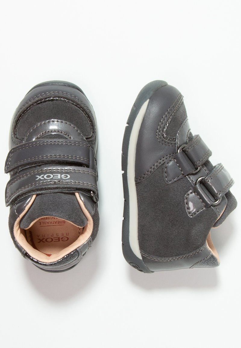 Geox - EACH GIRL - Babyschoenen - dark grey