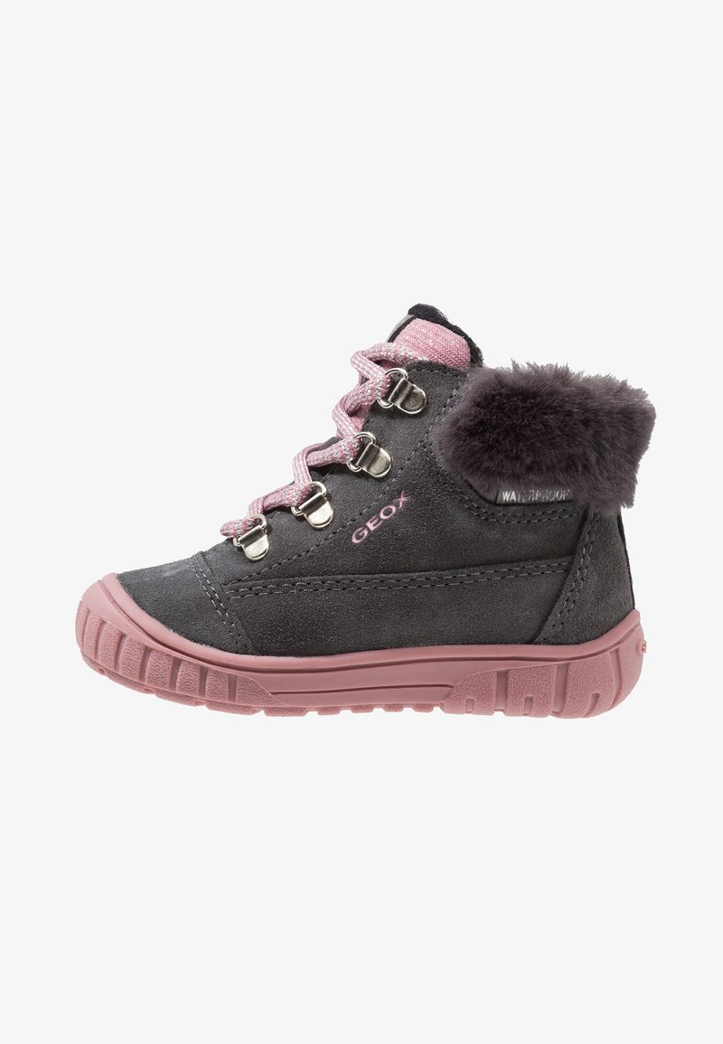 Geox - OMAR GIRL WPF - Babysko - dark grey