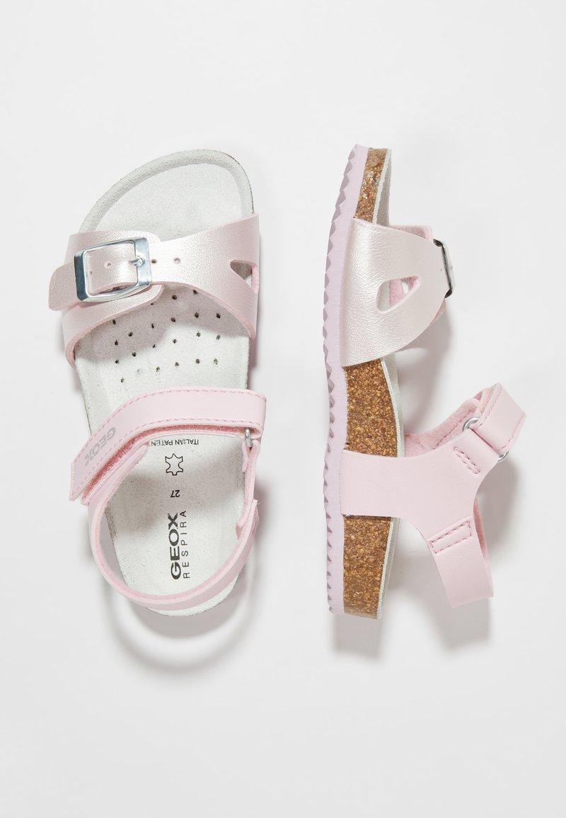 Geox - NEW ALOHA - Sandalias - pink/light pink