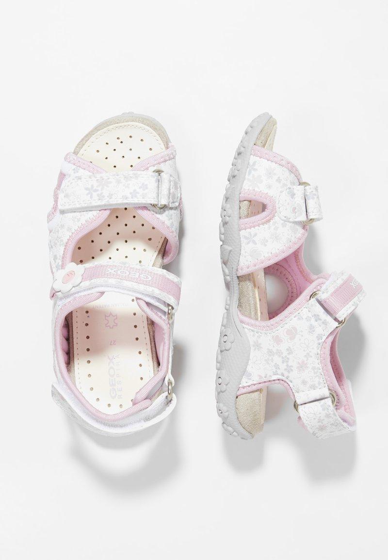 Geox - ROXANNE - Sandały - white/pink