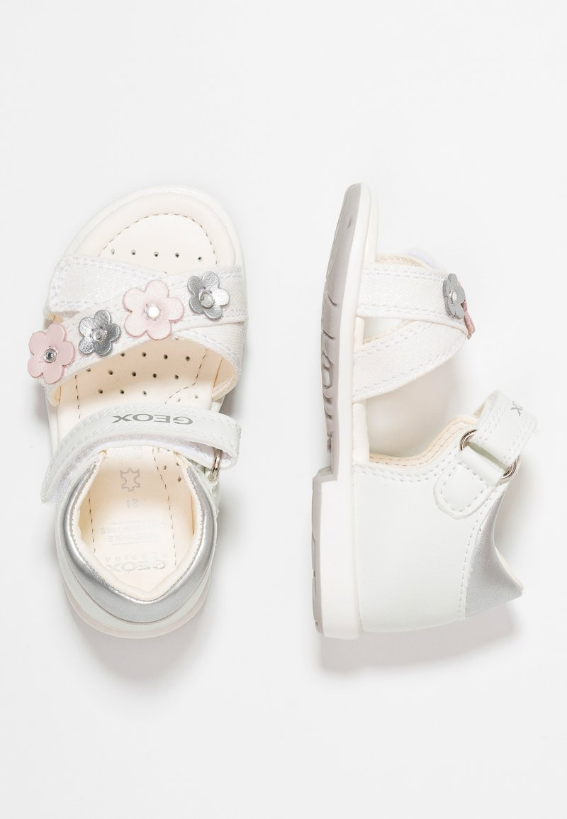 Geox - VERRED GIRL - Baby shoes - white